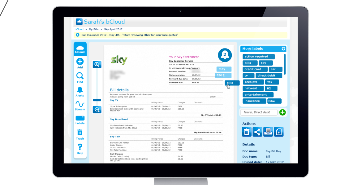 Looking for something beyond just conventional banking? Barclays shows the way through its Cloud It feature